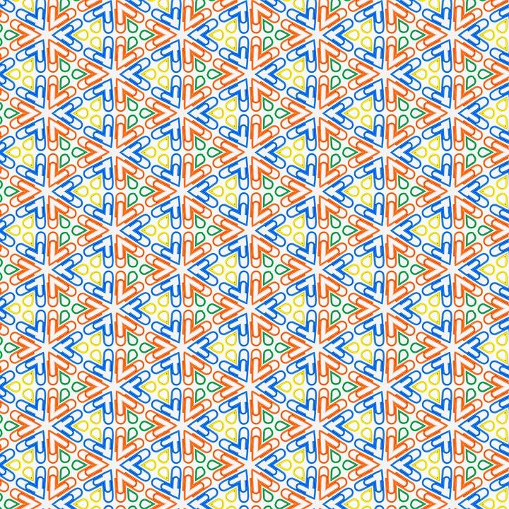 Papier peint graphique